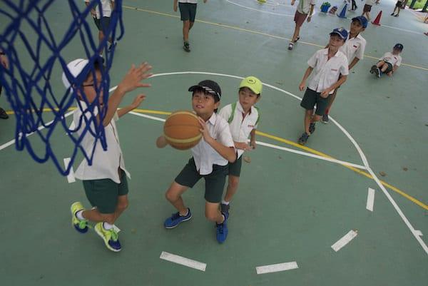 Broadrick - Basketball Court