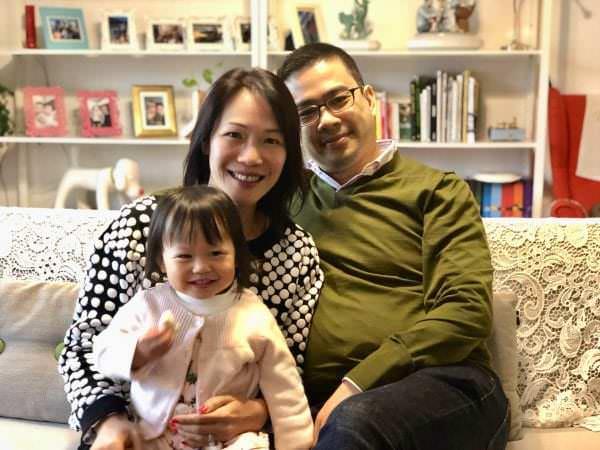 Karen and Hansen Lam, parents of Leanne Lam, PN