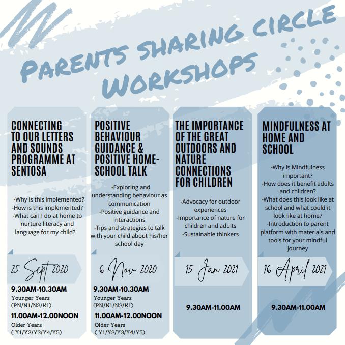 Sentosa Parents Sharing Circle